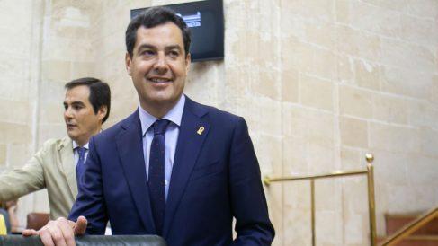 Juanma Moreno, presidente de la Junta de Andalucía