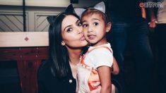 Kim Kardashian y su hija, North West, protagonistas