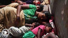 Las autoridades indias han habilitado refugios para la población evacuada a causa del ciclón Fani