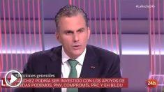 Javier Ortega Smith se refiere de la siguiente manera a un diputado podemita: «Representante de Unidos, Unidas, Podemos, Podemas».