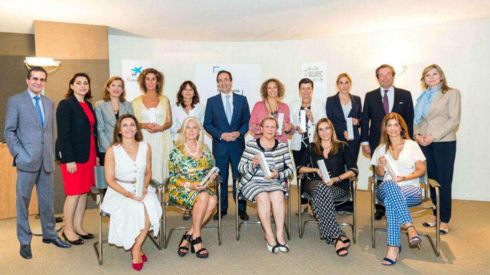 CaixaBank reconoce la trayectoria profesional de las directivas en España con su Premio Mujer Empresaria 2019 (Foto: CaixaBank)