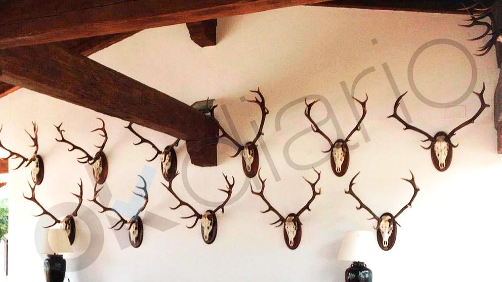 Interior de la finca de Quintos de Mora (Toledo) donde se hospeda Pedro Sánchez con su familia. (Foto: OKDIARIO)