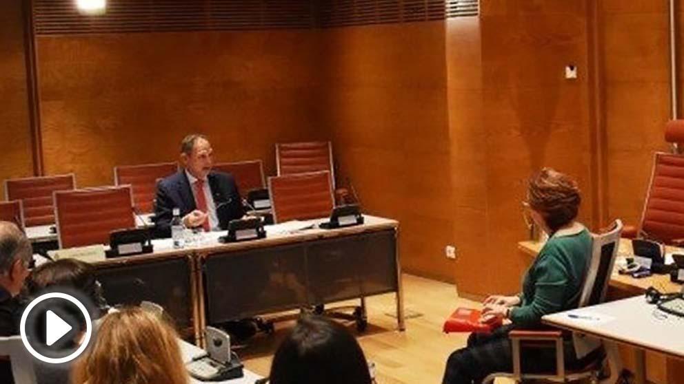 El presidente del Supremo de Venezuela en el exilio Martín Tortabú (Foto: EP)