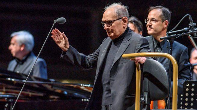 Ennio Morricone emociona en su despedida de los escenarios en España