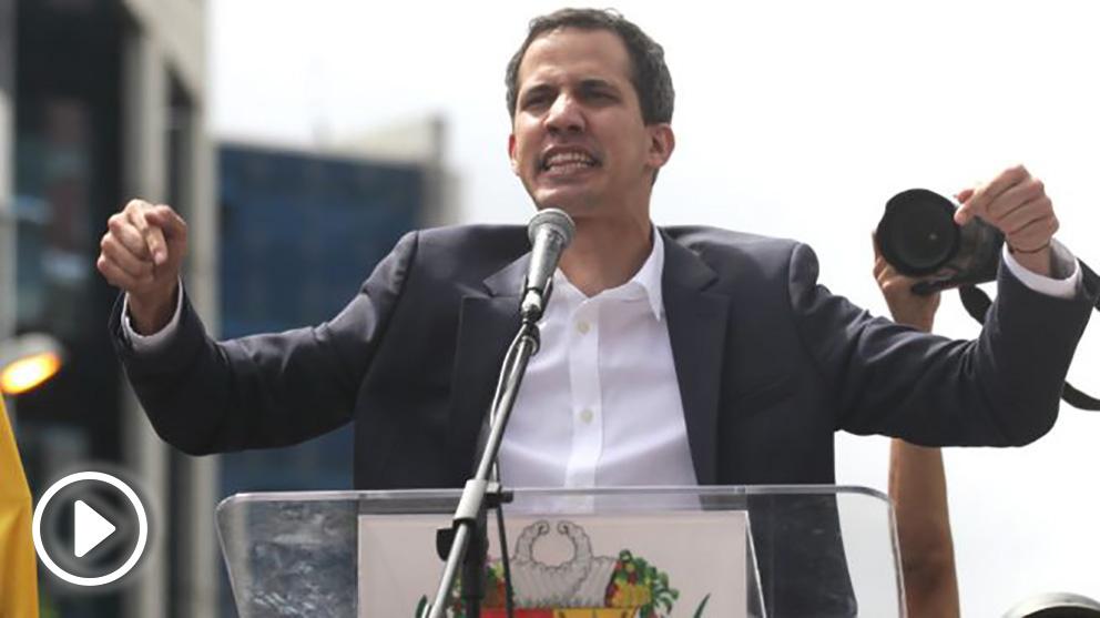 Juan Guaidó, proclamado presidente encargado por la Asamblea Nacional de Venezuela (Foto: Europa Press)