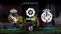 Real Madrid – Villarreal: partido de la jornada 36 de la Liga Santander.