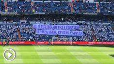 El homenaje a Casillas en el Bernabéu.