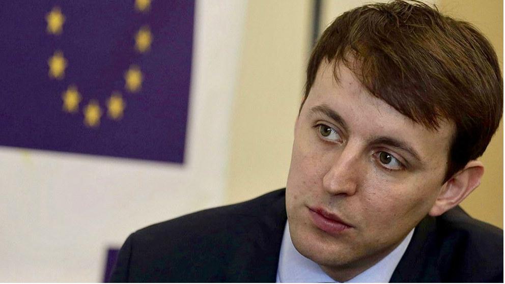 Javier López, candidato del PSC al parlamento europeo.