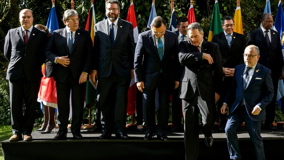 Reunión del Grupo de Lima (Foto: AFP)