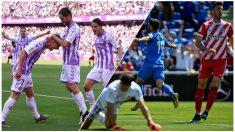 La victoria del Valladolid manda al Girona a puestos de descenso.