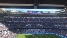 El Bernabéu recibió a Vinicius con una sonora ovación.