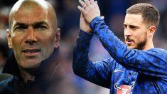 Zidane recomendó el fichaje de Hazard al Real Madrid hace ocho años.