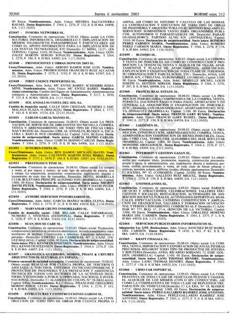 """El Boletín Oficial del Registro Mercantil recogió el nombramiento de Calvente como """"administradora única"""" de la sociedad que gestiona el Milady Palace."""