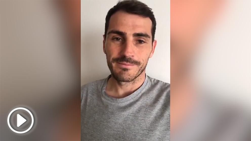 Iker Casillas da las gracias a todos los que se han preocupado por su estado de salud.