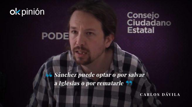 Sánchez será el asesino o el salvador de Iglesias