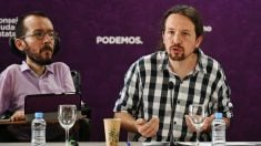 Pablo Iglesias y Pablo Echenique. (Foto: Podemos)