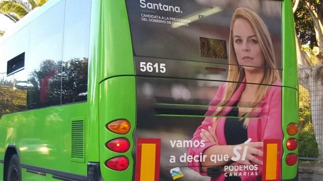 Podemos Canarias debe retirar sus carteles de 26-M por adelantarse a la fecha oficial de campaña