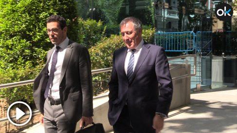 Alberto Pozas acude a declarar como investigado en el caso Villarejo.