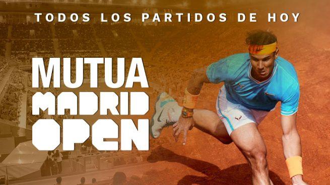 partidos hoy Mutua Madrid Open 2019