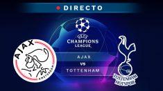 Champions League: Ajax – Tottenham | Partido de hoy de la Champions League, en directo.