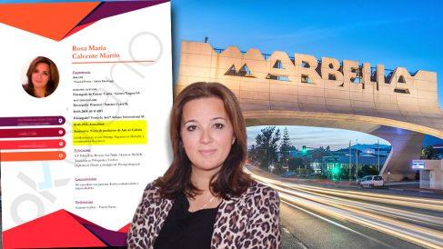 La candidata de Vox en Marbella, Rosa Calvante, fue administradora de Suncres Costa SL, empresa del Milady Palace.