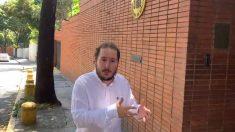 El periodista Joan Guirado en Caracas