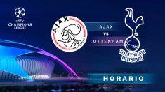 Champions League: Ajax – Tottenham| Horario del partido de fútbol de Champions League.