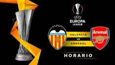 Europa League: Valencia – Arsenal | Horario del partido de fútbol de Europa League.