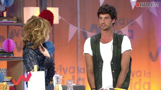 Jorge Brazález ('Masterchef') muestra su indignación con Emma García en 'Viva la vida' por un comentario