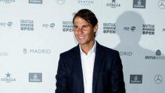 Rafael Nadal, en una comparecencia en Madrid. (EFE)
