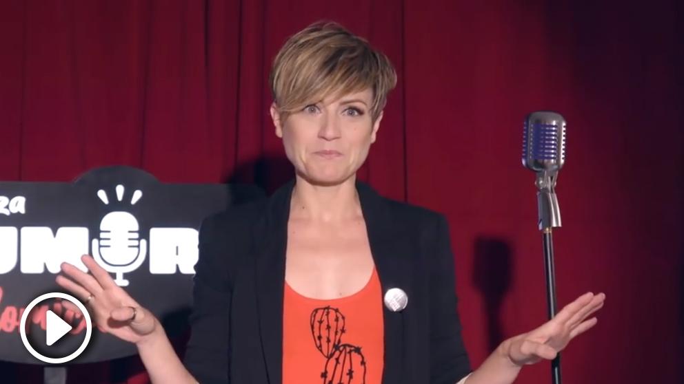 Sara Escudero, humorista (Foto: Telepizza)