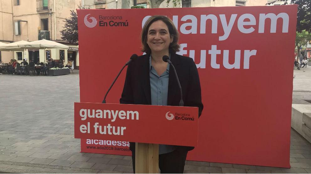 Ada Colau. Foto: Europa Press