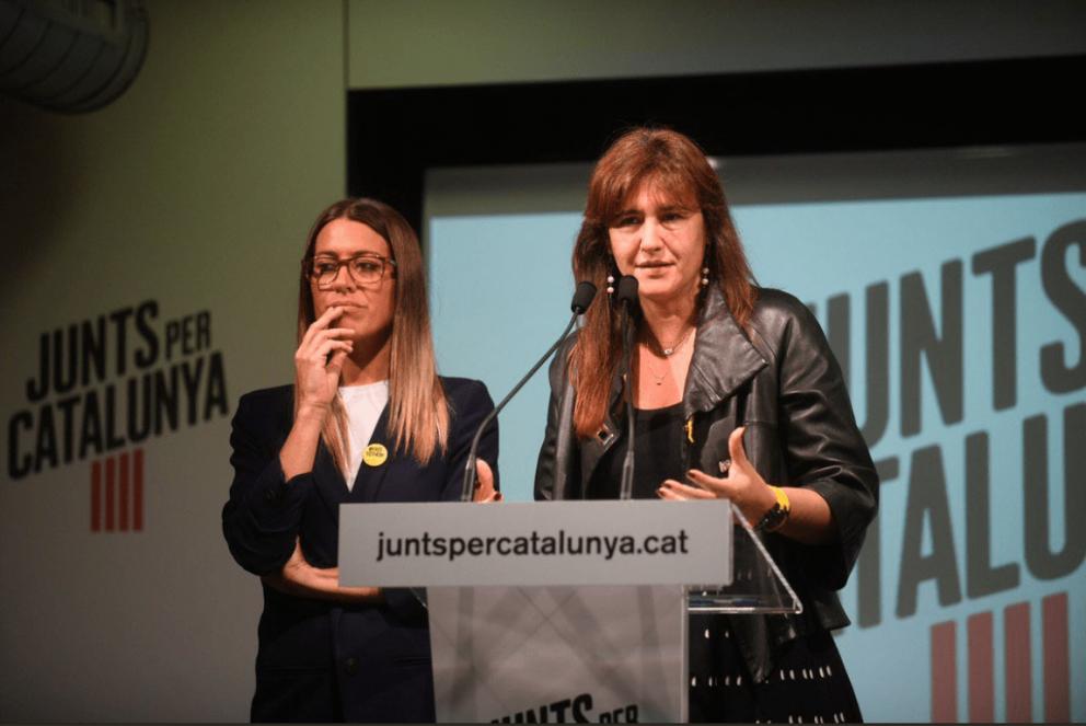 Laura Borras, dirigente de JxCat (Foto. Twitter)