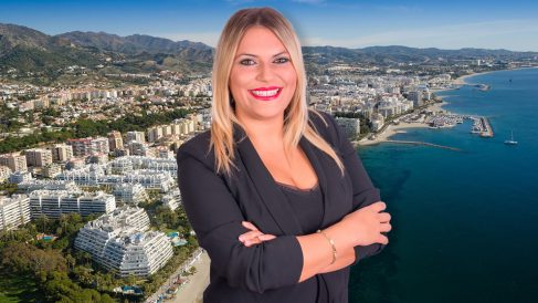 Elisabet Lorenzo, número tres de la lista de Vox al Ayuntamiento de Marbella.