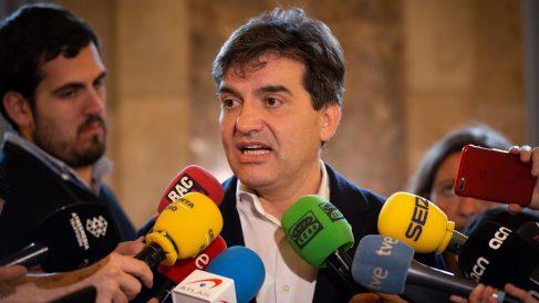 El líder de ERC en el Parlament, Sergi Sabrià. Foto @Europa Press