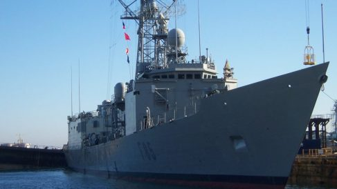 Fragata de la Armada 'Navarra'.