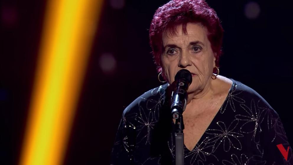 Germa ha cumplido su sueño cantando en 'La Voz Senior'