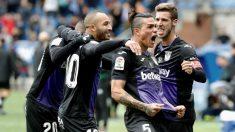 Jonathan Silva celebra un gol con el Leganés(@3Jonathansilva)