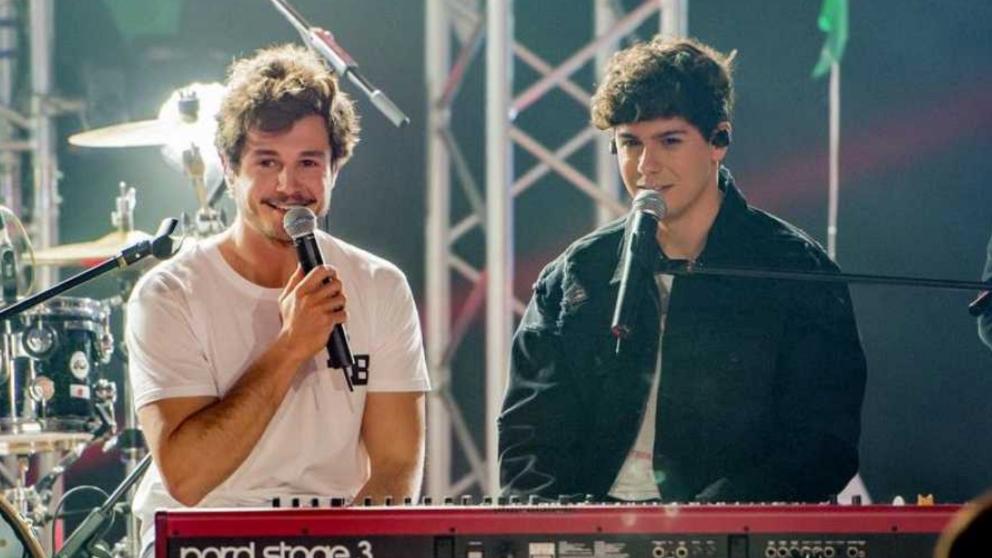 Alfred invitado de Miki antes de su marcha para 'Eurovisión 2019'. (Foto: RTVE)