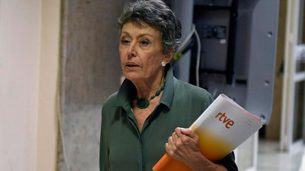 La administradora de RTVE, Rosa María Mateo. Foto: Agencias