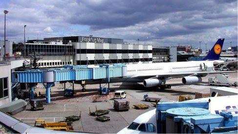 Aeropuerto de Frankfurt. Foto: Europa Press