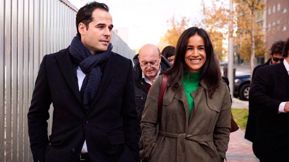 Los candidatos de Cs a la Presidencia de la Comunidad de Madrid y a la Alcaldía de Madrid, Ignacio Aguado y Begoña Villacís. Foto: EP