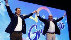 Juanma Moreno en un acto de campaña electoral del Partido Popular andaluz. Foto: EP