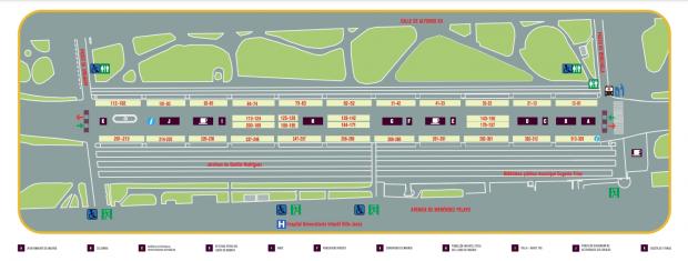 Plano Feria de Madrid 2021