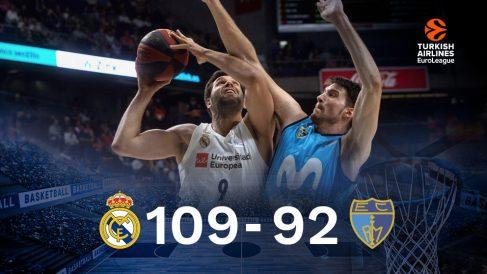 El Real Madrid gana al Estudiantes. (EFE)