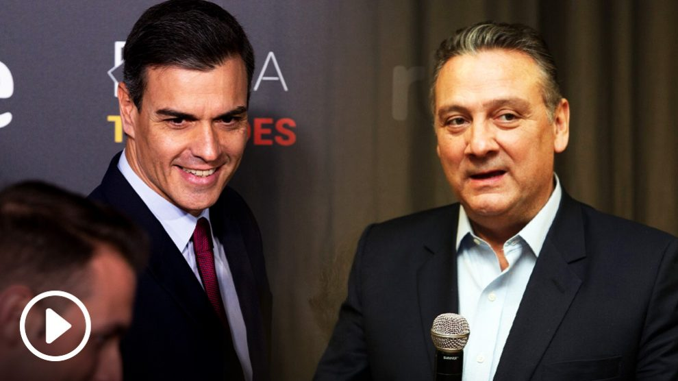 Pedro Sánchez y Alfredo Prada.
