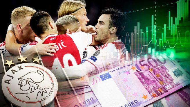 El Ajax gana 150 millones en Bolsa desde el inicio de la Champions pese a la debacle contra el Tottenham
