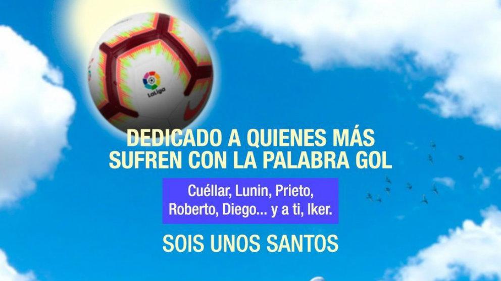 Cartel promocional del Leganés para su partido ante el Espanyol (@CDLeganes)