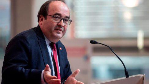 Miquel Iceta. Foto: EFE