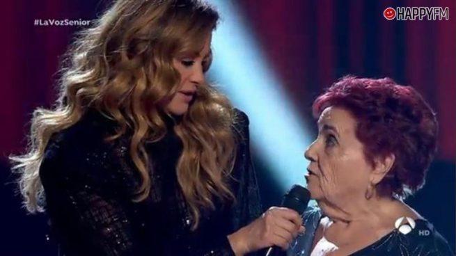 'La Voz Senior': El zasca de un talent a Paulina Rubio que ha impactado en redes sociales